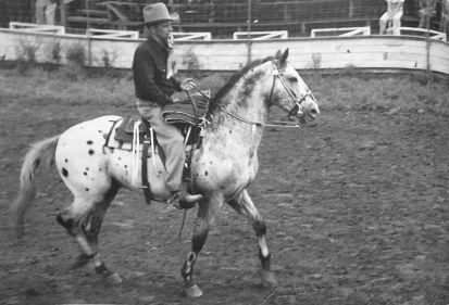 Toby I appaloosa rodeo 2