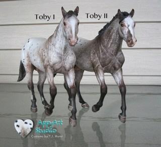 tj hurst appaloosa Toby I and Toby II models