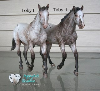 tj hurst appaloosa Toby I and Toby II models