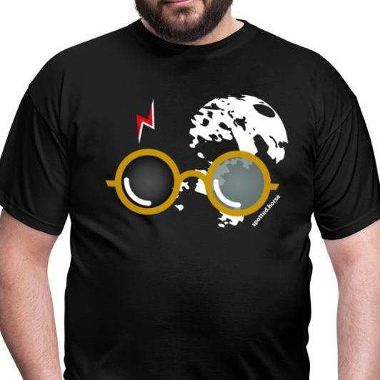 T Shirt Uomo Nera